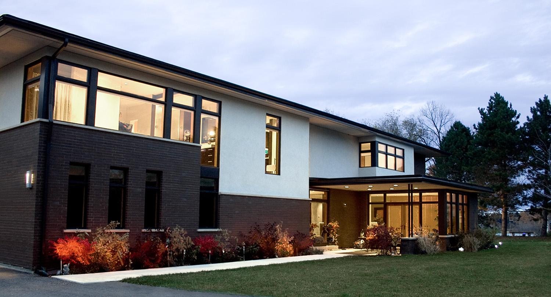 Building arts preston lake house for Preston house